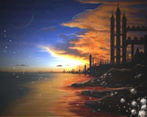 Trinnack City skyline