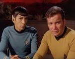 tt-kirk and spock